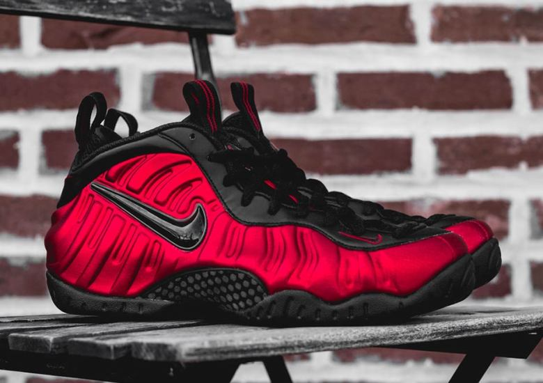 """newest collection d270c 76f0b The Nike Air Foamposite Pro """"Varsity Red"""" Is Almost Here"""
