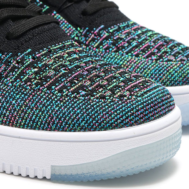 sneakers for cheap 929ed 8760b Nike Air Force 1 Low Flyknit Multicolor 817419-002 ...