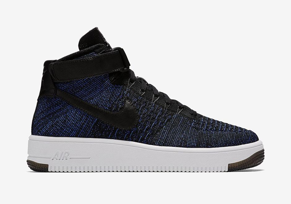 Nike Air Force 1 Flyknit Noir Jordan