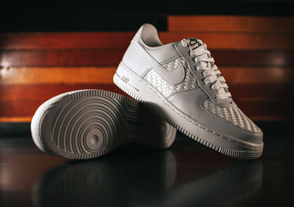 ceef3e4c3746 free shipping Nike Air Force 1 Low Woven White - molndalsrev.se