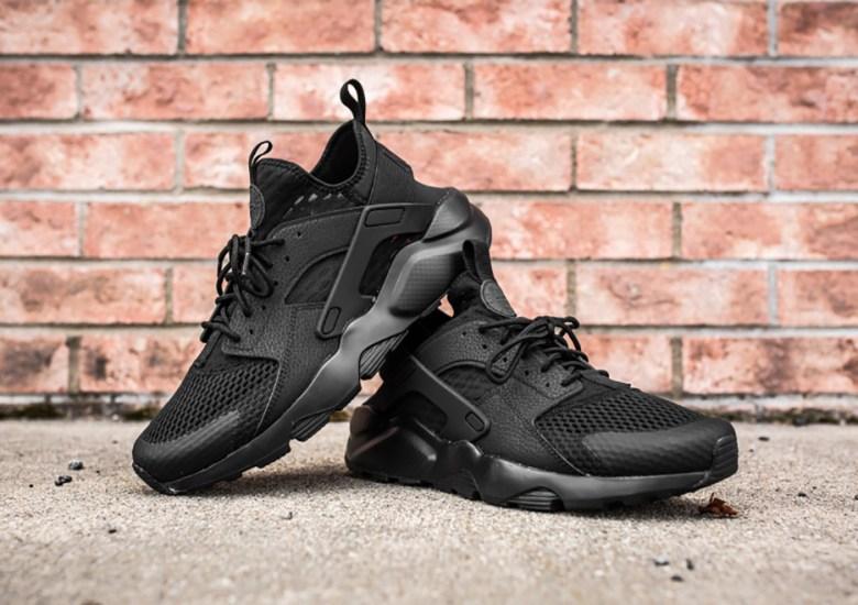 "49f475cd8f57 Nike Air Huarache Ultra BR ""Triple Black"" - SneakerNews.com"