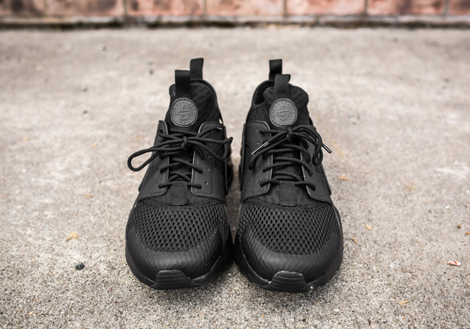 "meet 8050a 8a853 Nike Air Huarache Ultra BR ""Triple Black"" - SneakerNews.com"