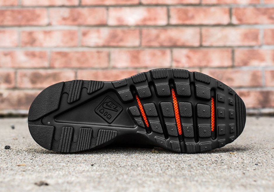 Nike Huarache De Aire Dirigido De Ultra Ancho De Triple Negro dD0BZ