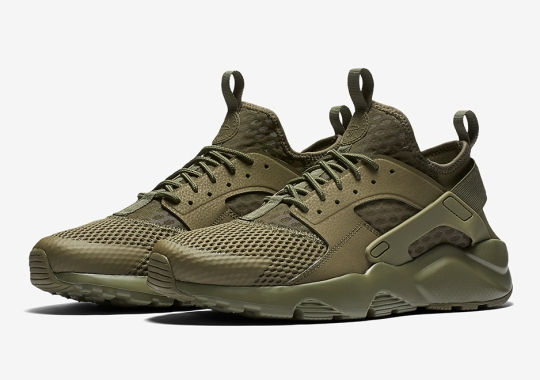 Military-Themed Colors Deploy On The Nike Air Huarache Ultra BR