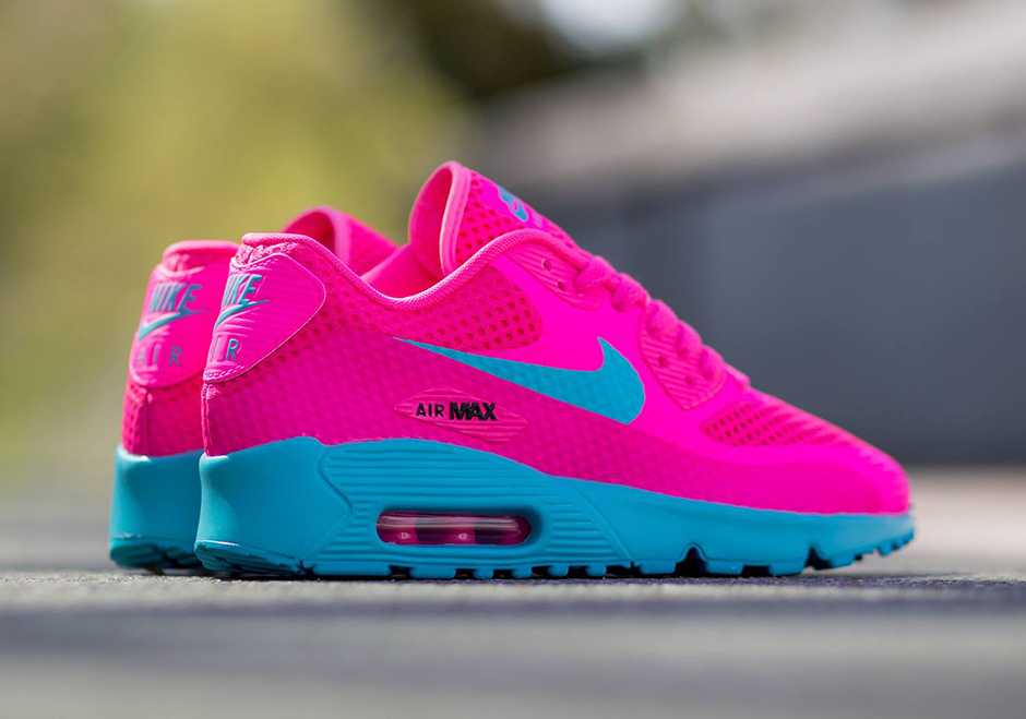 Air Max Shoes Blue And Pink