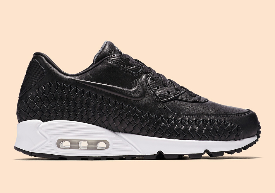 Nike Air Max 90 Woven. Color  Black Black-White Style Code  833129-001.  Release Date  May 9th 533754cba415