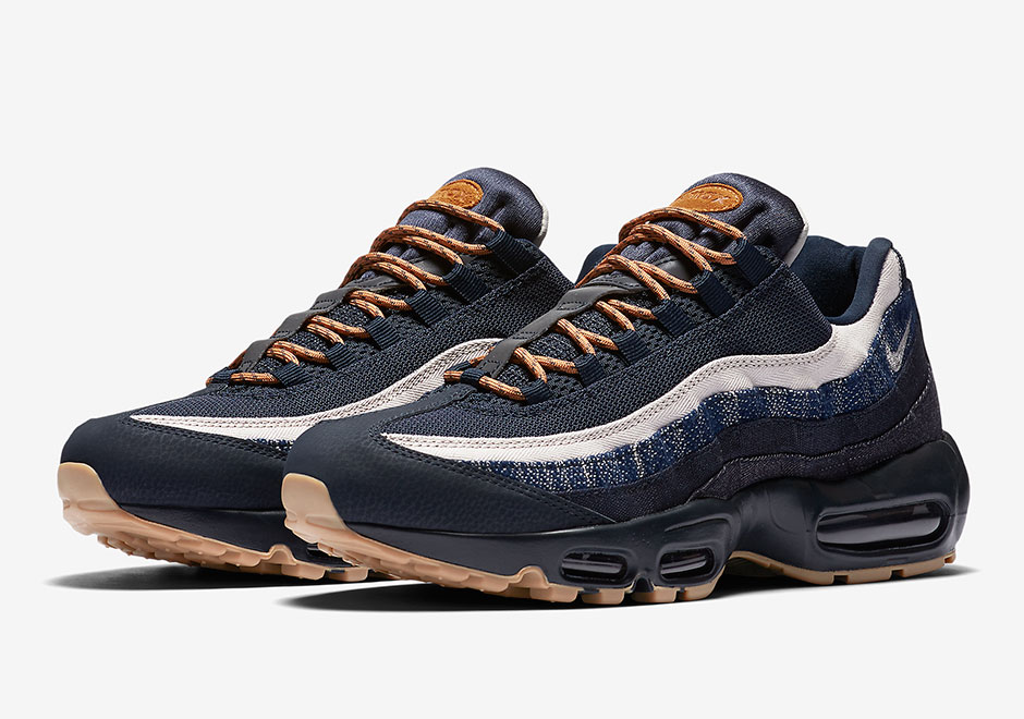 pas mal 63992 34fea Nike Air Max 95 Denim and Gum | SneakerNews.com