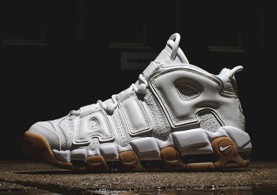 Nike Air More Uptempo White Gum Sneakernews Com