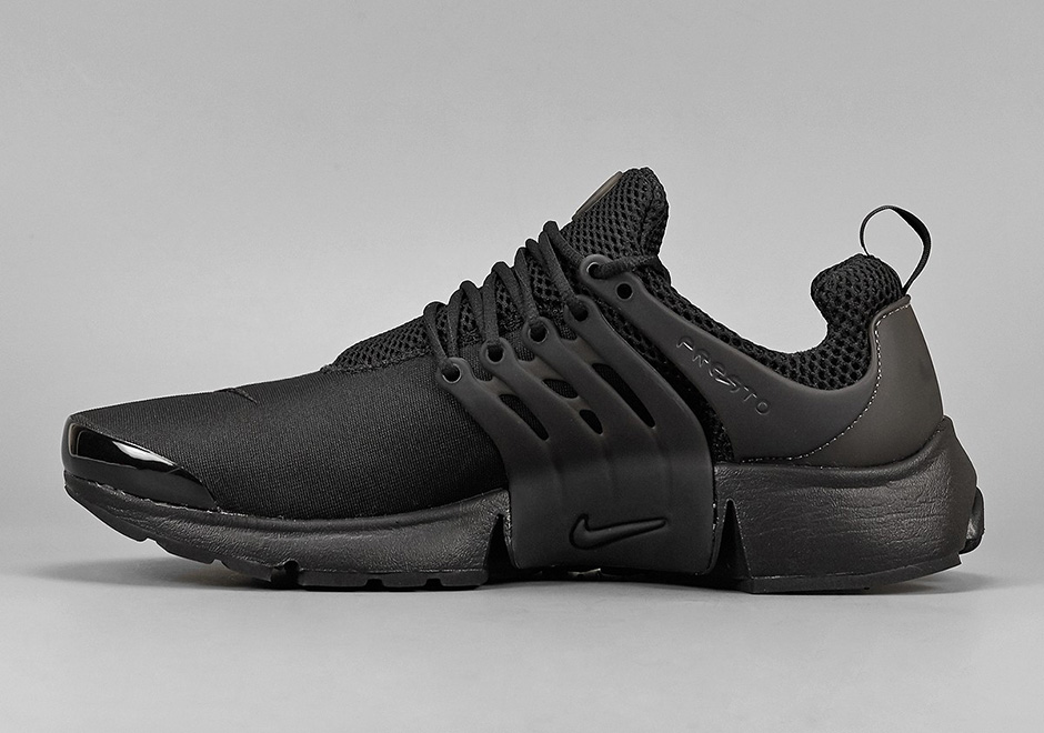 Nike Presto Triple Black Release Info  101f8c653