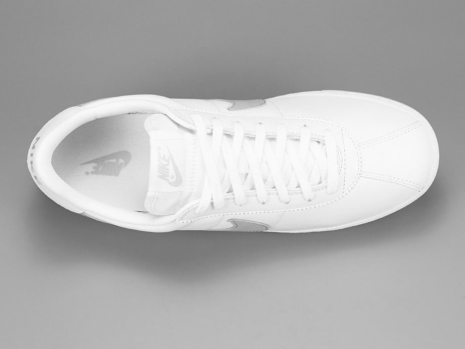 cb5c98b72351 Nike Bruin Leather. Color  White Wolf Grey Style Code  826670-100