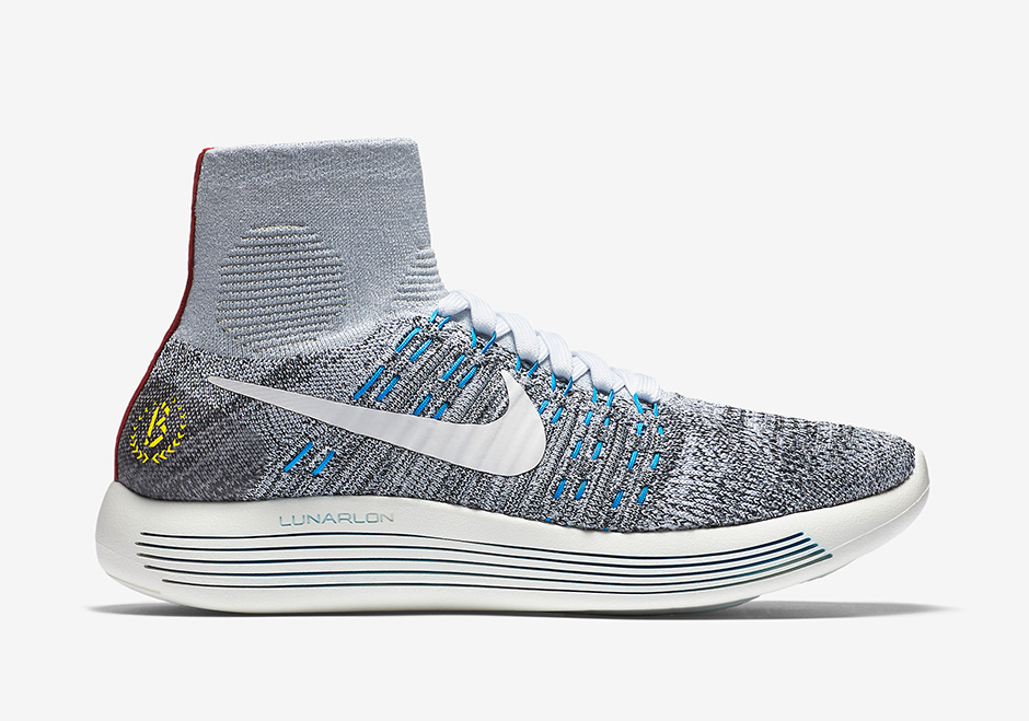 "116a4d218bb Nike LunarEpic Flyknit ""Boston Marathon"" Men s"