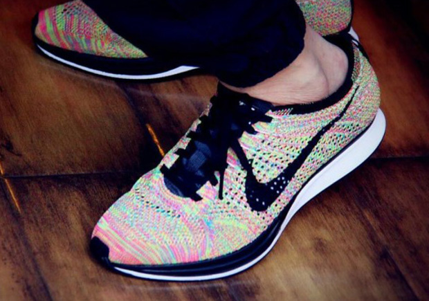 ffc3794f4231a on sale Nike Flyknit Racer Multi Color 526628 004 - s132716079 ...