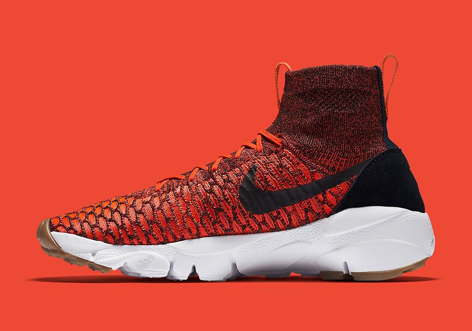 11cd7d313156 Nike Footscape Magista Flyknit. Color  Bright Crimson Gold ...