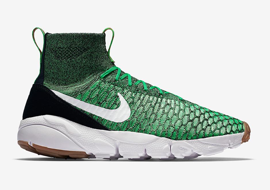 nike footscape magista flyknit gorge green sneakernewscom