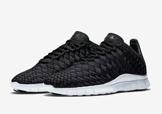 The Nike Free Inneva Woven Returns In Classic Black/White
