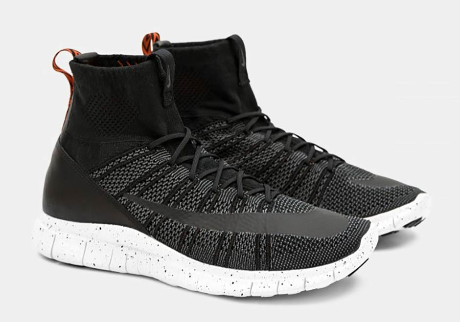 competitive price c36f4 ab413 Nike Free Mercurial Superfly Black Team Orange | SneakerNews.com