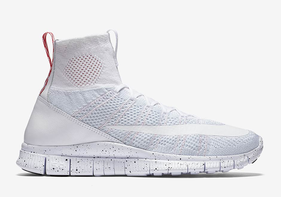 The Nearly \u201cTriple White\u201d Nike Free Mercurial Superfly Releases This Month