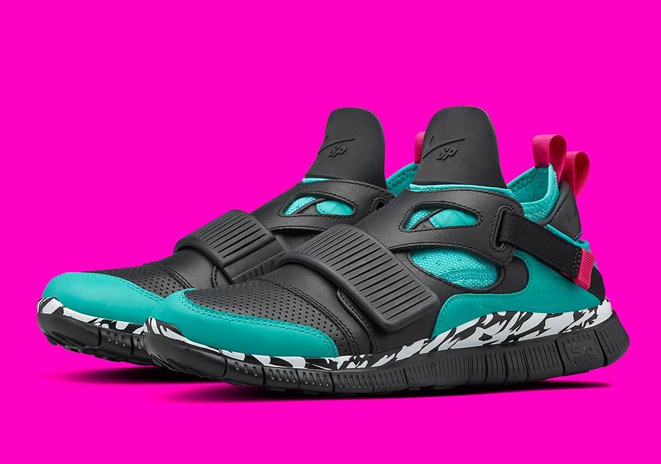 quality design 1046f 5e69e The Original Carnivore Colorway Lives On The Nike Free Huarache Carnivore