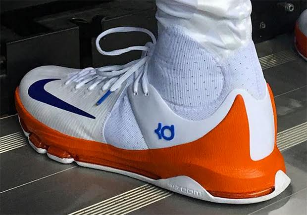 finest selection 56090 ef078 Kevin Durant Breaks Out Another Nike KD 8 Elite In Big Win Over Clippers