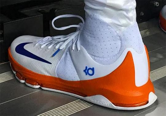 Kevin Durant Breaks Out Another Nike KD 8 Elite In Big Win Over Clippers
