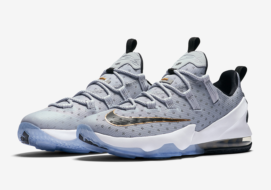 aafbc4c24ca ... basketball shoes clearance purchase nike lebron 13 low cool grey 831925  071 sneakernews 4d189 b6e35 ...