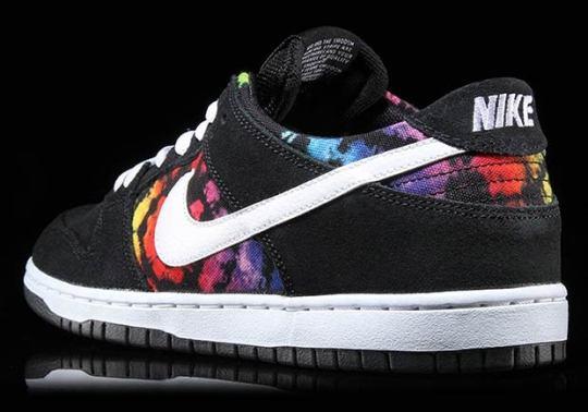 Tie-Dye Prints Appear On Ishod Wair's Latest Nike SB Dunk Release
