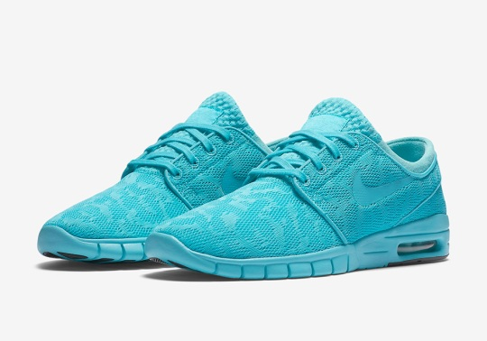 "The Nike SB Janoski Max ""Gamma Blue"" Is Ready For Summer"