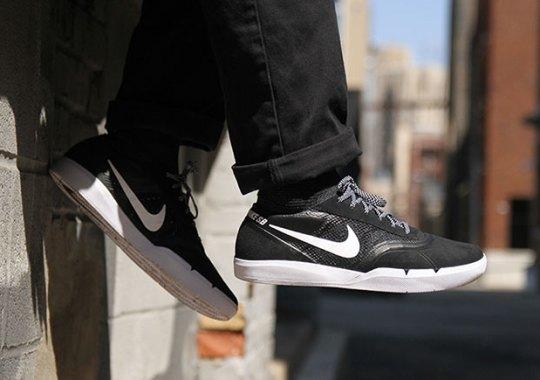 Eric Koston's Innovative Nike SB Skate Shoe Releases In Black/White