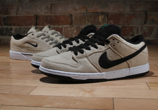 """Nike SB """"Raw Canvas"""" Pack Featuring The Dunk And GTS"""