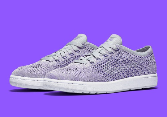 Nike Pairs The Tennis Classic With Lavender Flyknit