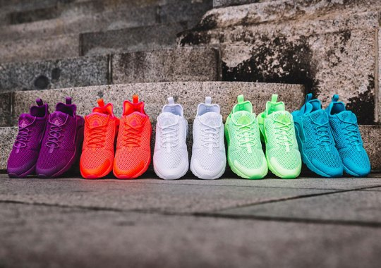 Five Vibrant Options Of The Nike Air Huarache Ultra BR Are Available Now