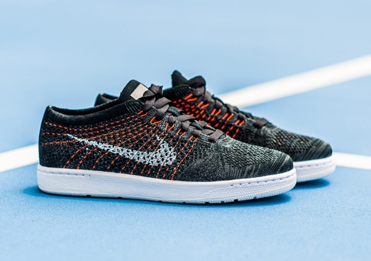Nike's Low-Key Flyknit Hit Releases In Anthracite And Orange