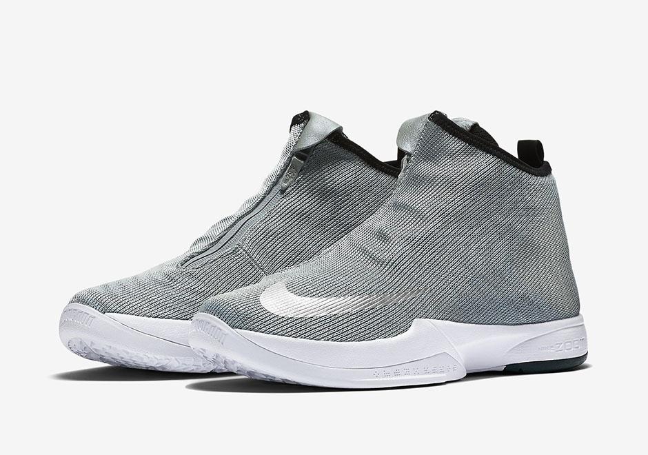 uk availability c2502 f544b Nike Zoom Kobe Icon Jacquard Premium. Color  Metallic Silver White Black Metallic  Silver Style Code  832836-001. Price   170