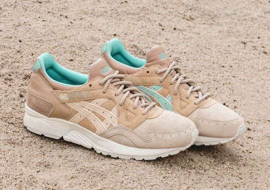 "Offspring's ASICS GEL-Lyte V ""Cobbled Pack"" Arrives In The US"