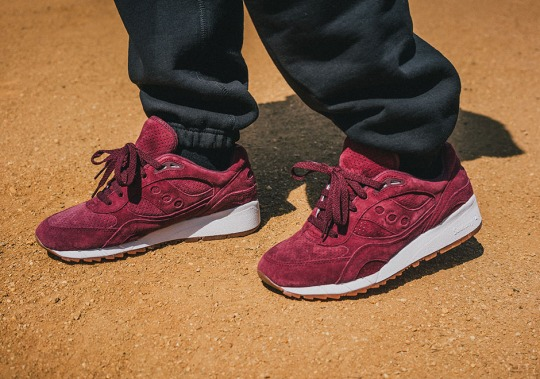 "Saucony Shadow 6000 ""Burgundy Suede"""