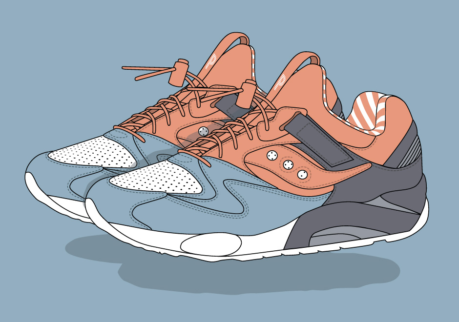Premier Unveils Their Candy-Inspired Saucony Collaboration With Sweet Illustrations