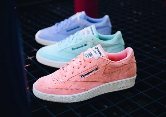 Reebok Brings Spring Pastels To The Scene With The Club C '85