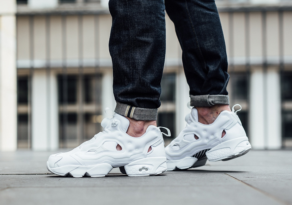 reebok insta pump fury og on feet