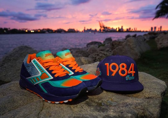 "Shoe Gallery x Brooks Heritage Regent ""84 Fins"" Celebrates Miami's Football Greats"