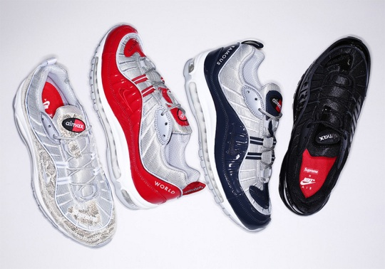 Supreme Designs Four Versions Of The Nike Air Max 98