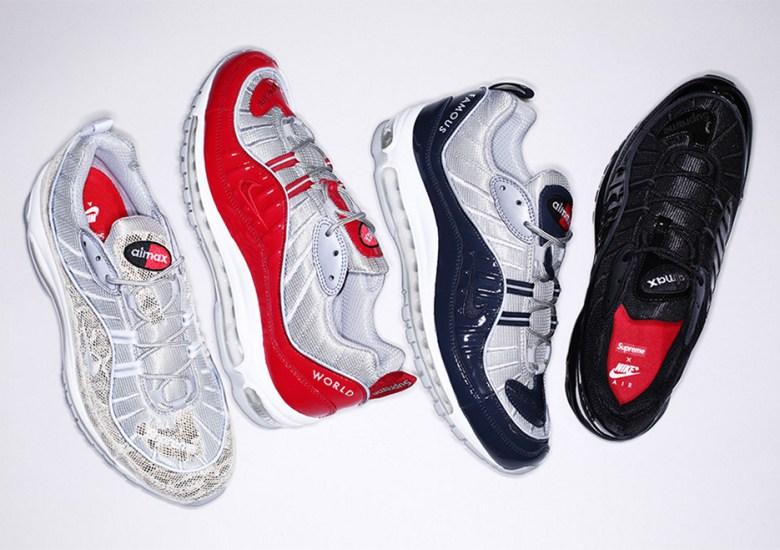 frustrante limite alleviare  Supreme Air Max 98 Release Date | SneakerNews.com