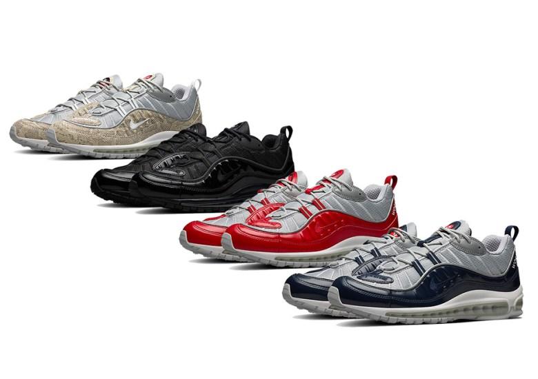 Zoológico de noche poco claro Desanimarse  Supreme Nike Air Max 98 Nike.com Online Release | SneakerNews.com