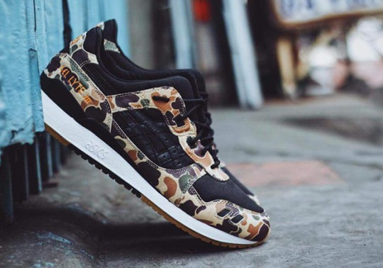 atmos Brings Duck Camo Prints To The ASICS GEL-Lyte III