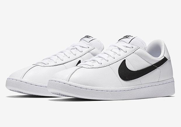 estudiar oportunidad Cabecear  NikeLab Bruin Leather White/Black 842956-101   SneakerNews.com