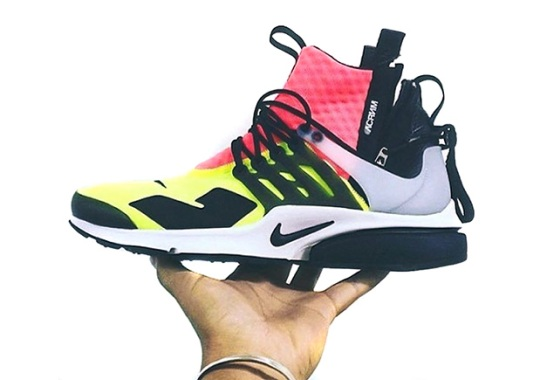 ACRONYM Transforms The Nike Air Presto With New Details And Bright Colors
