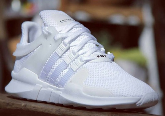 "adidas Puts ""Triple White"" On The Updated EQT '91-'16"