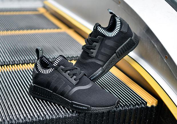 Adidas Nmd R1 Primeknit Svart Boost SXTqUwMio