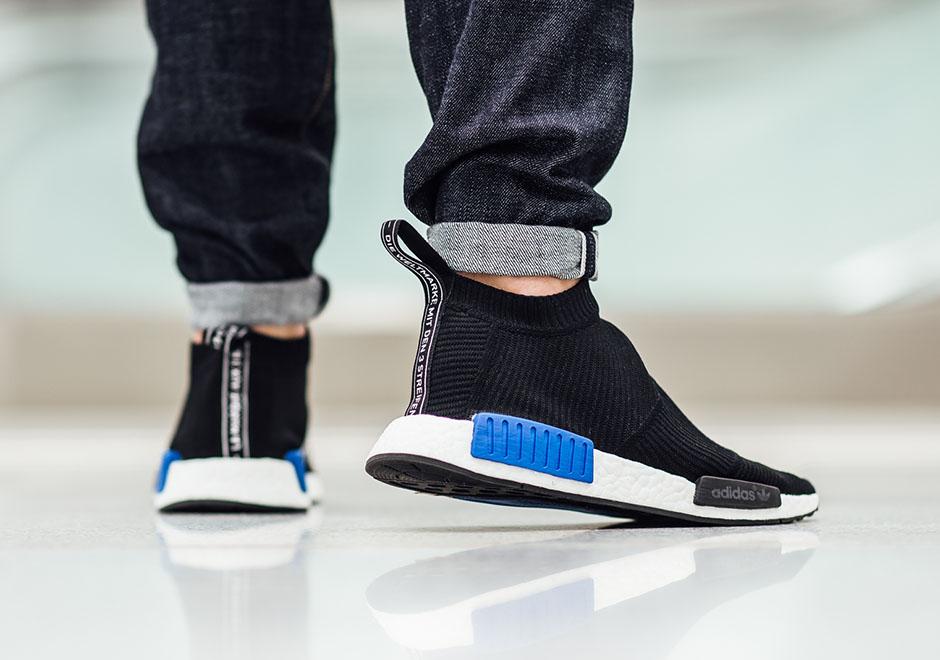 Adidas Nmd Chukka On Foot