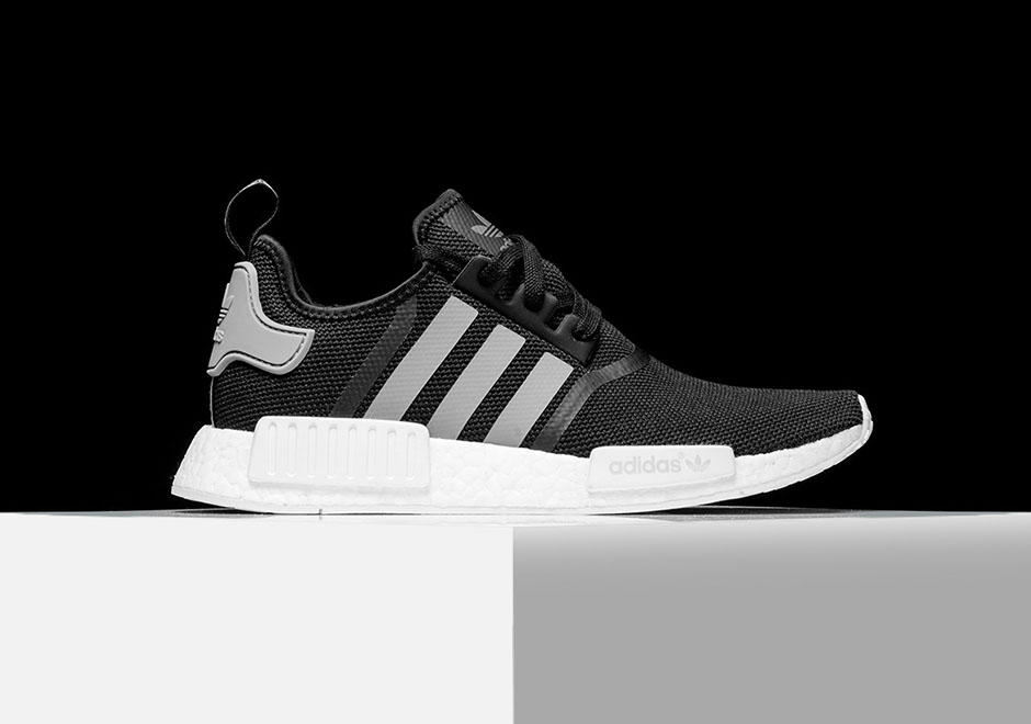 adidas Originals NMD R2 PK Boost (black / grey) Free Shipping