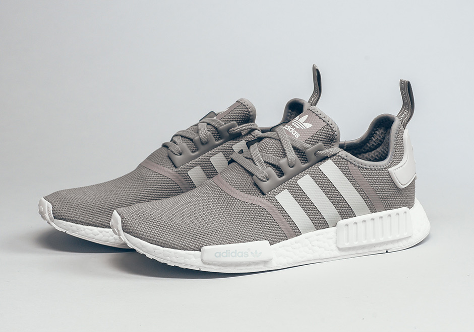 Look Out For The adidas NMD R1 In Grey White